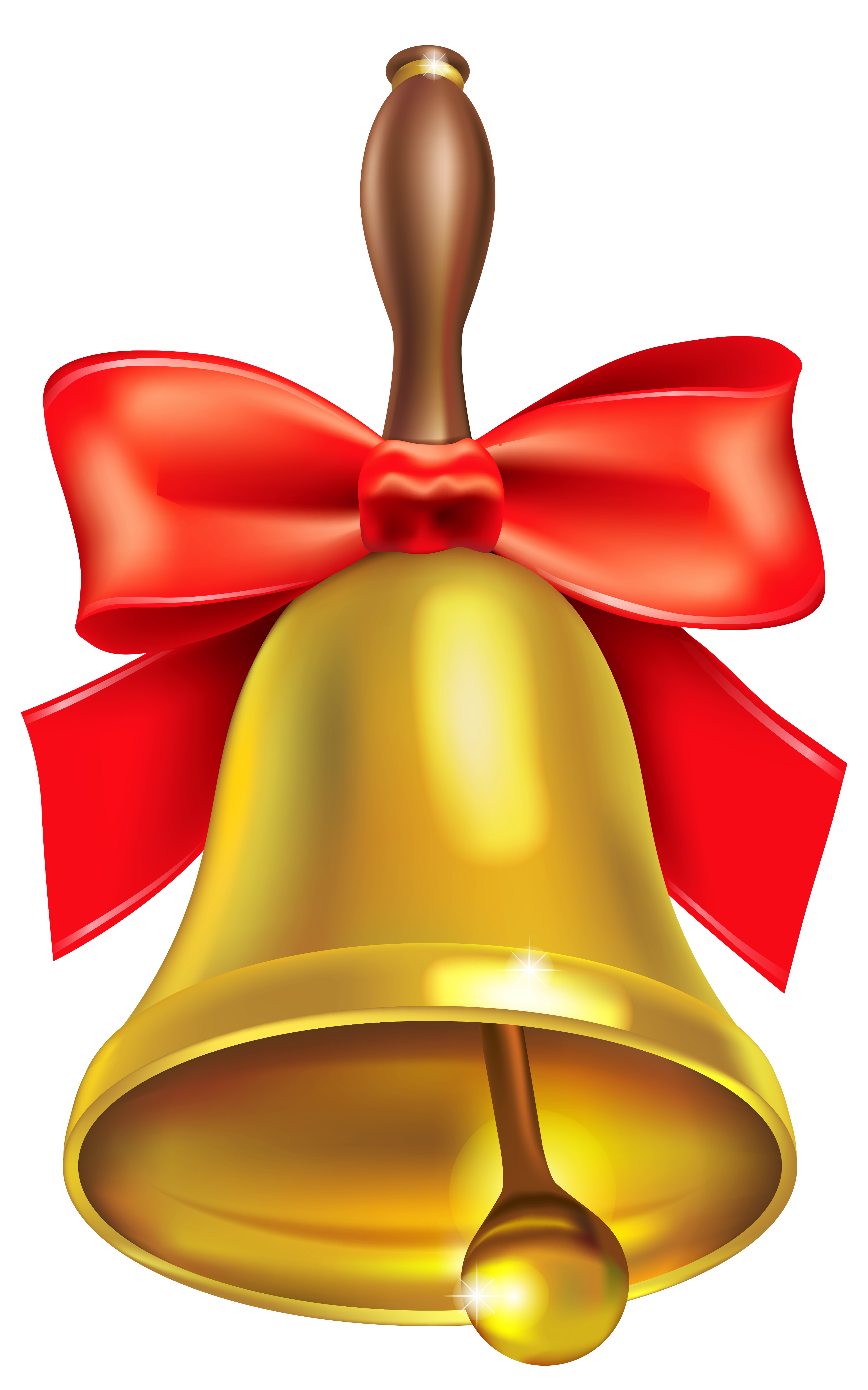 Gold School Bell PNG Clipart Picture Free clip art, Clip