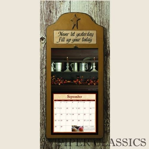 Add some primitive style to your wall calendar with this ...