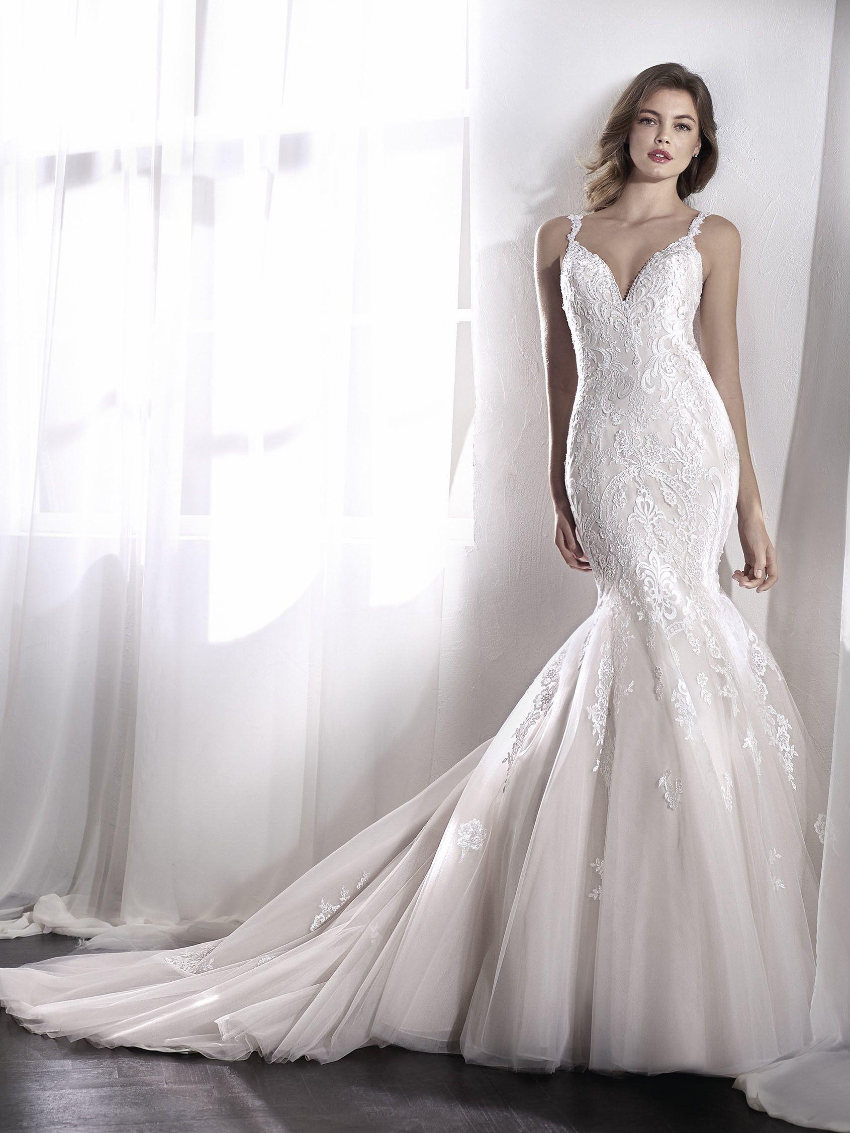 2e80fc01c LEVIRAS vestido de novia corte sirena Catalogo De Vestidos