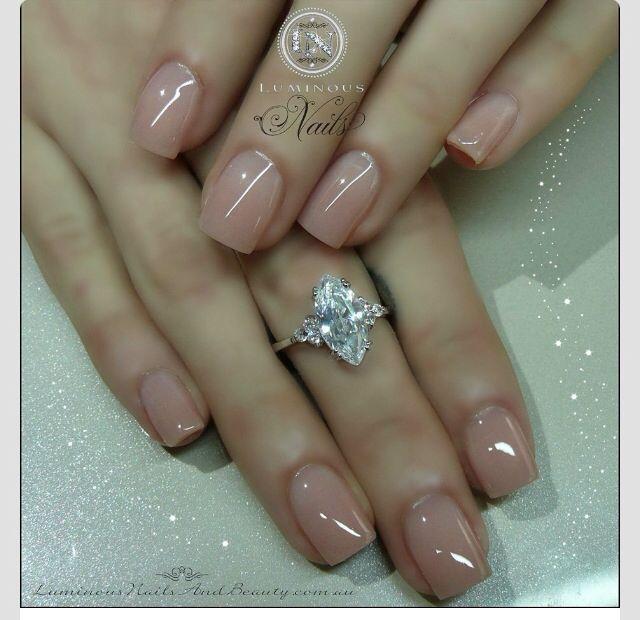 Natural | Beauty/nails | Pinterest | Natural, Neutral nails and ...