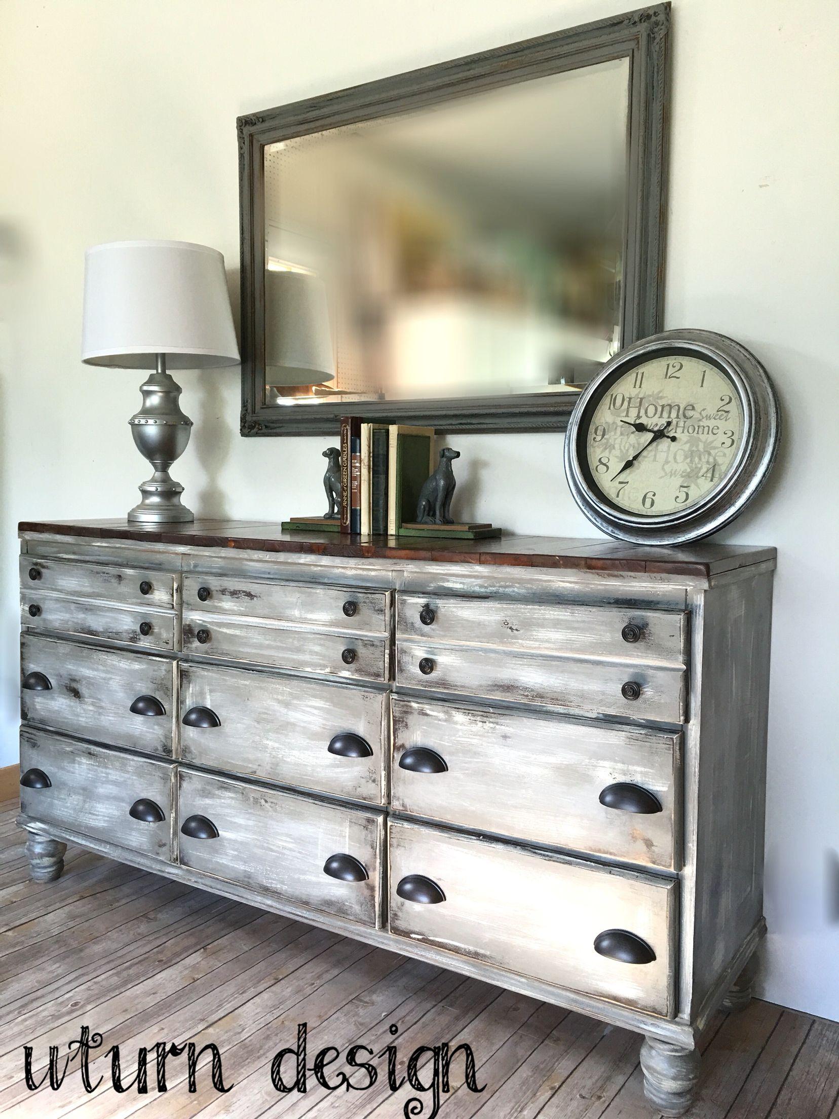 Grey Dresser By Uturn Design