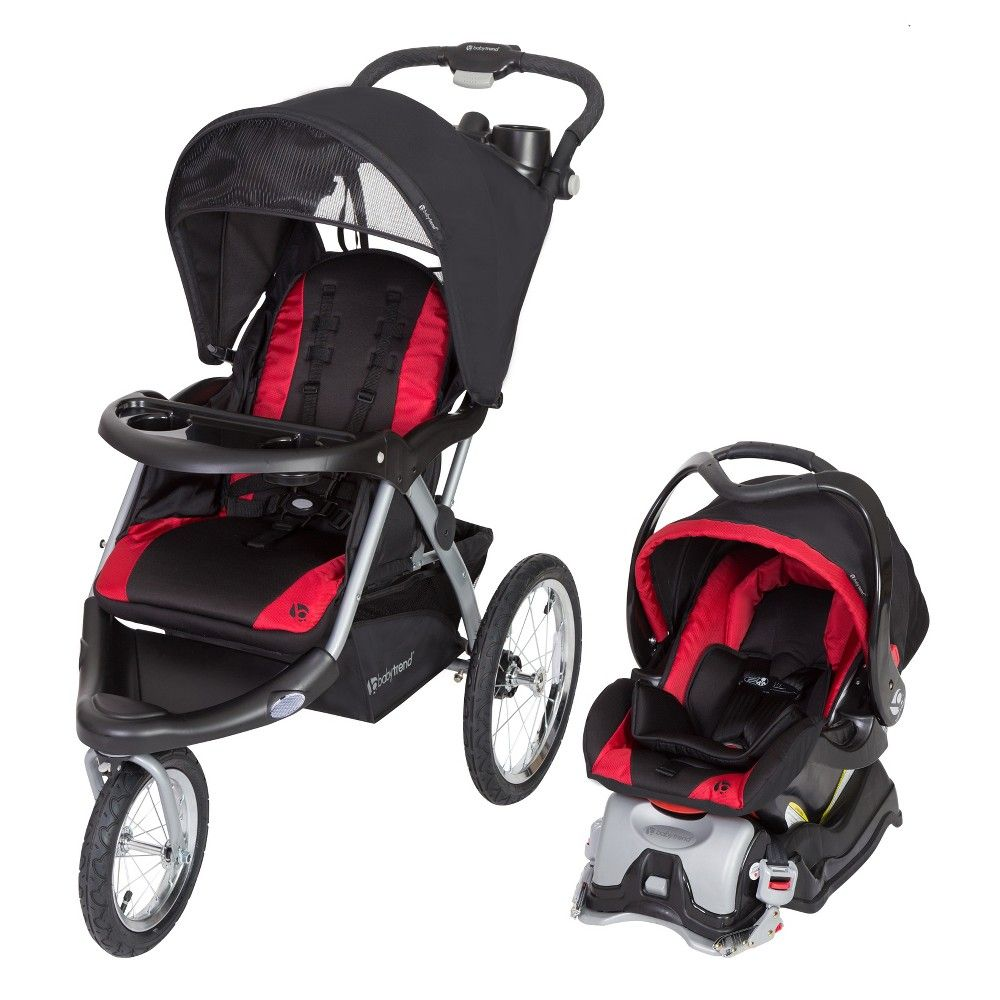 Baby Trend Expedition Jogger Stroller Bubble Gum for Toddler Safety Travel Ride