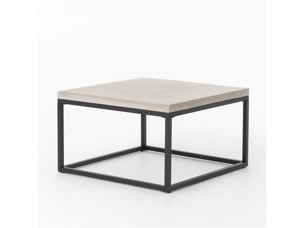 Four Hands Home Office Maximus 30 Square Coffee Table Nat Conc