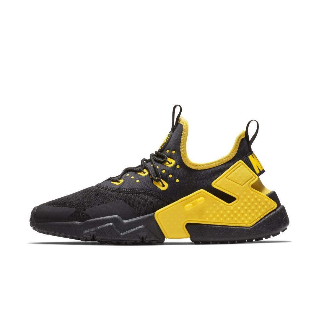 18f94ba0014ec Nike Air Huarache Drift Men s Shoe Size 15 (Black)