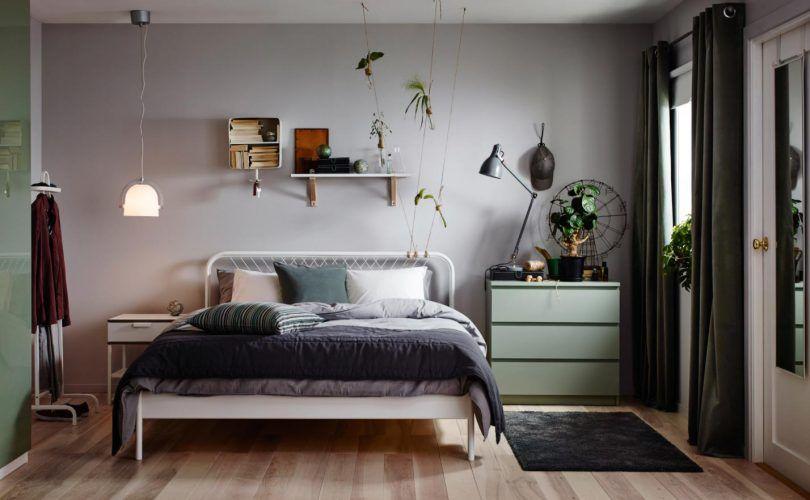 photo de chambre de 9m2 aménagée avec du mobilier ikea | petits