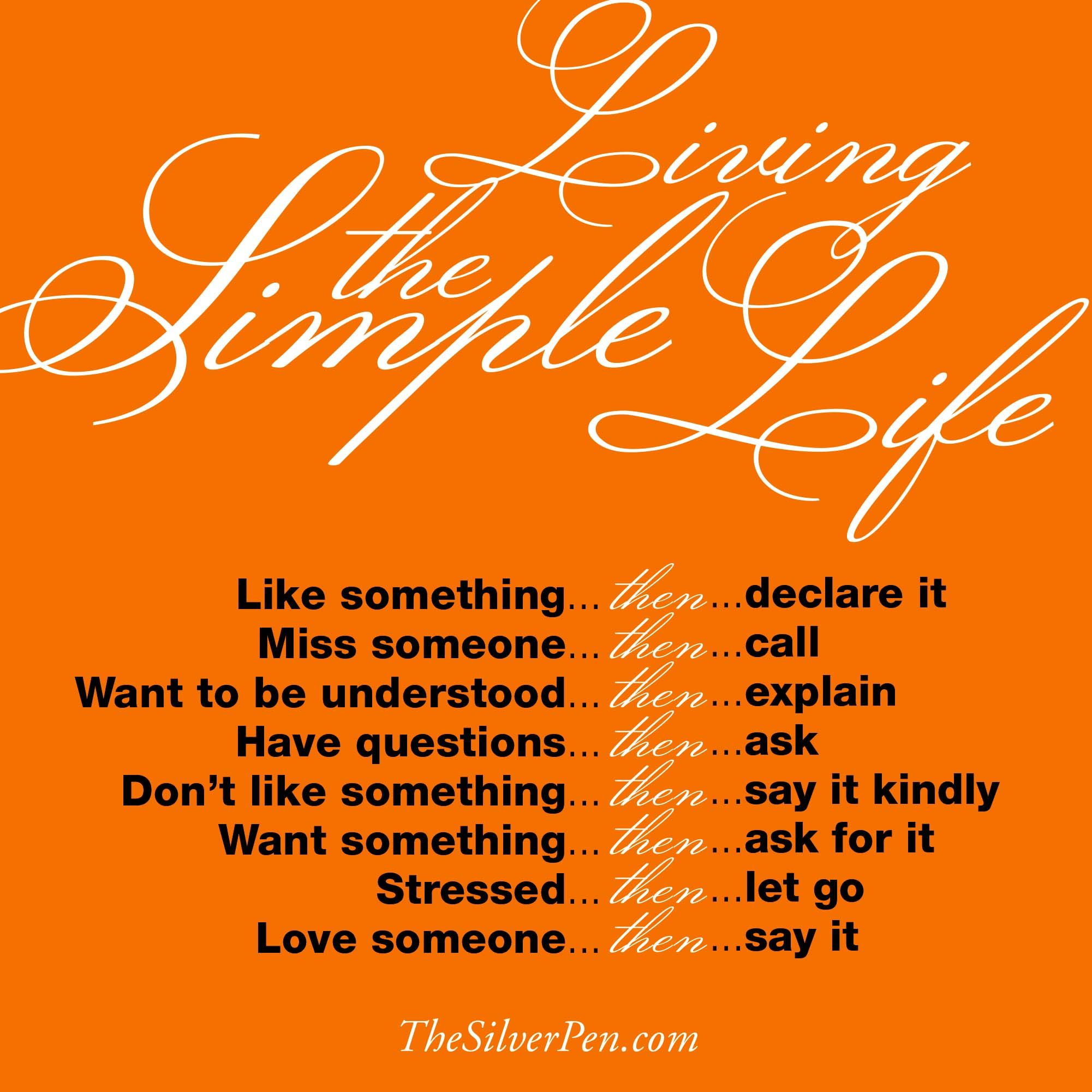 Celebrating Life Quotes The Art Of Living Simply  Inspirational Picture Quotes About Life
