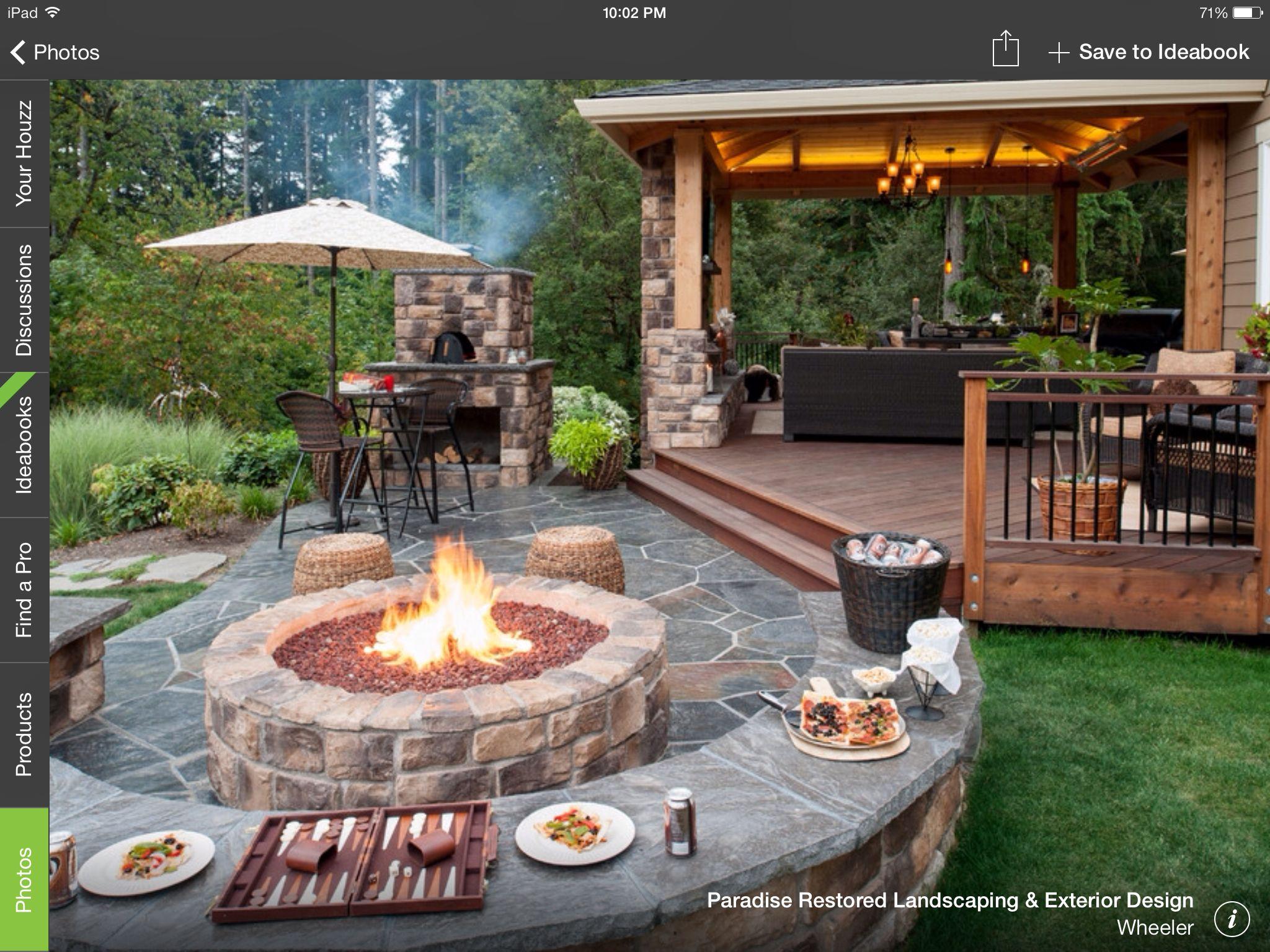 Deck to patio transition   Backyard   Pinterest   Decking, Patios ...