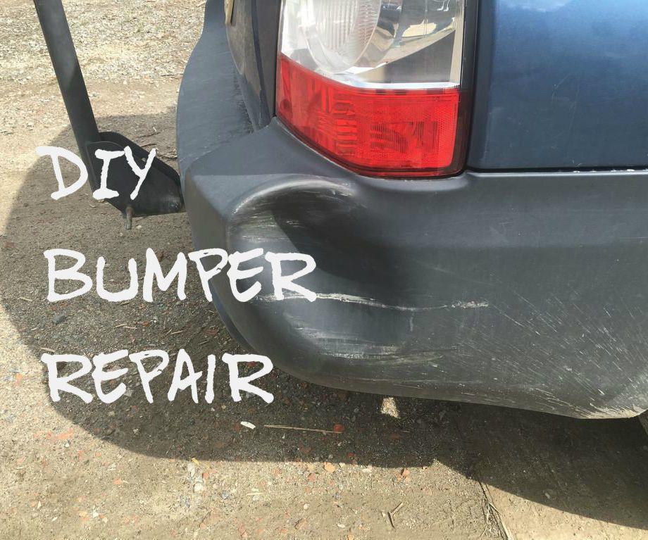Diy Bumper Repair Bumper Repair Diy Bumper Car Repair Diy