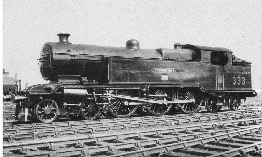 """LB&SCR """"baltic"""" 4-6-4 loco Remembrance"""""""