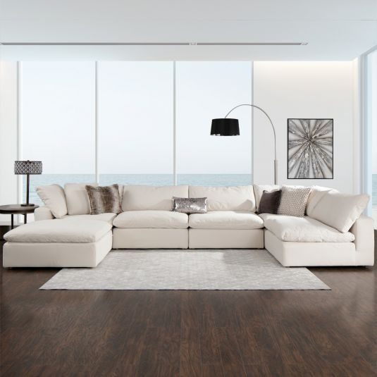 The Reserve Sectional Tan Jerome S Furniture New