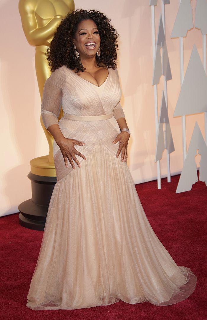 Oprah Winfrey I Vera Colorful Wedding Dressesoprah