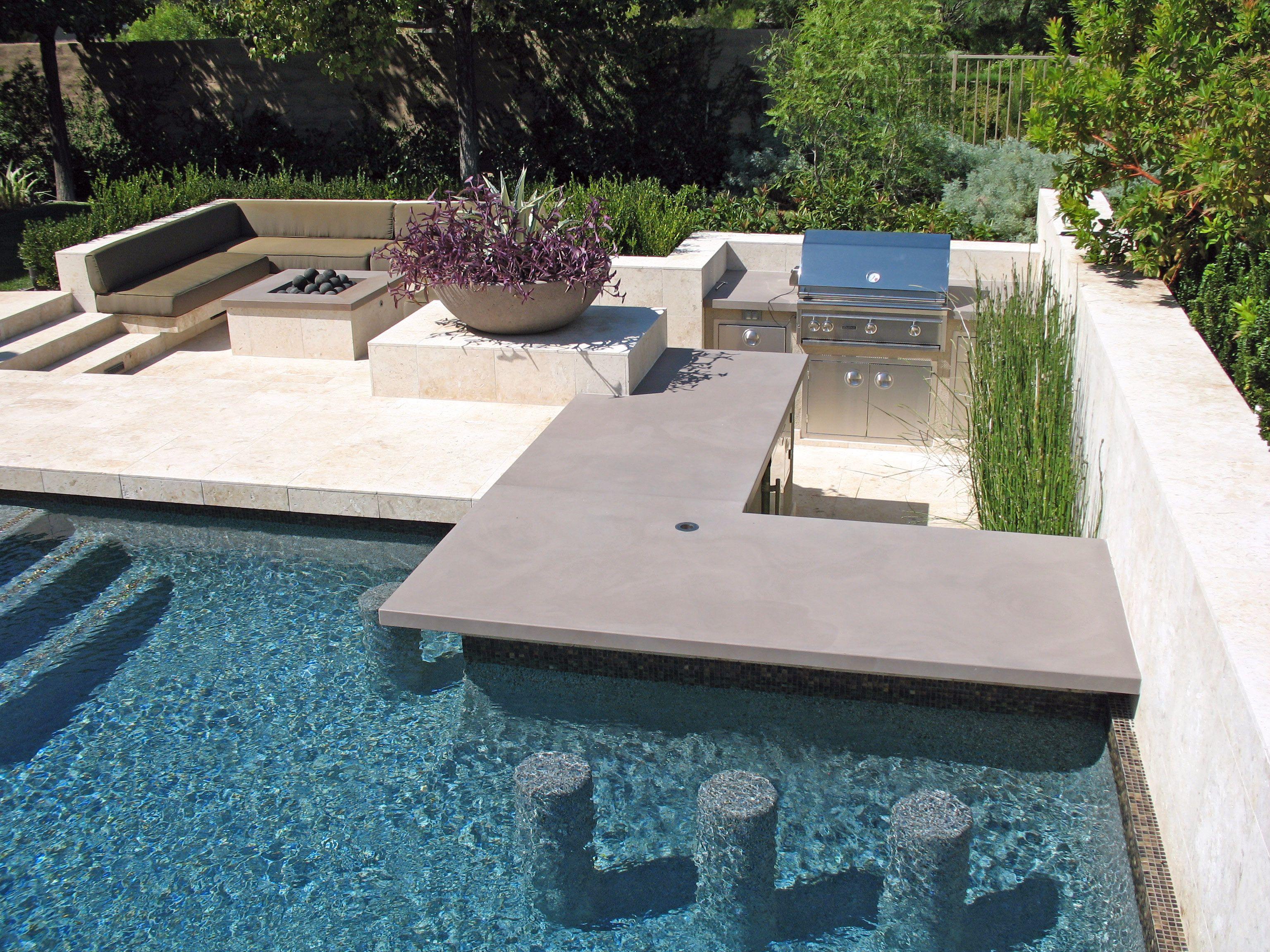 Outdoor kitchen pools pinterest mid century modern