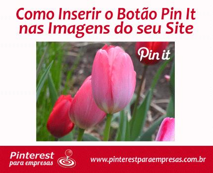 Como Inserir o Botão Pin It nas Imagens do seu Site #pinterestparaempresas #pinterestmarketing