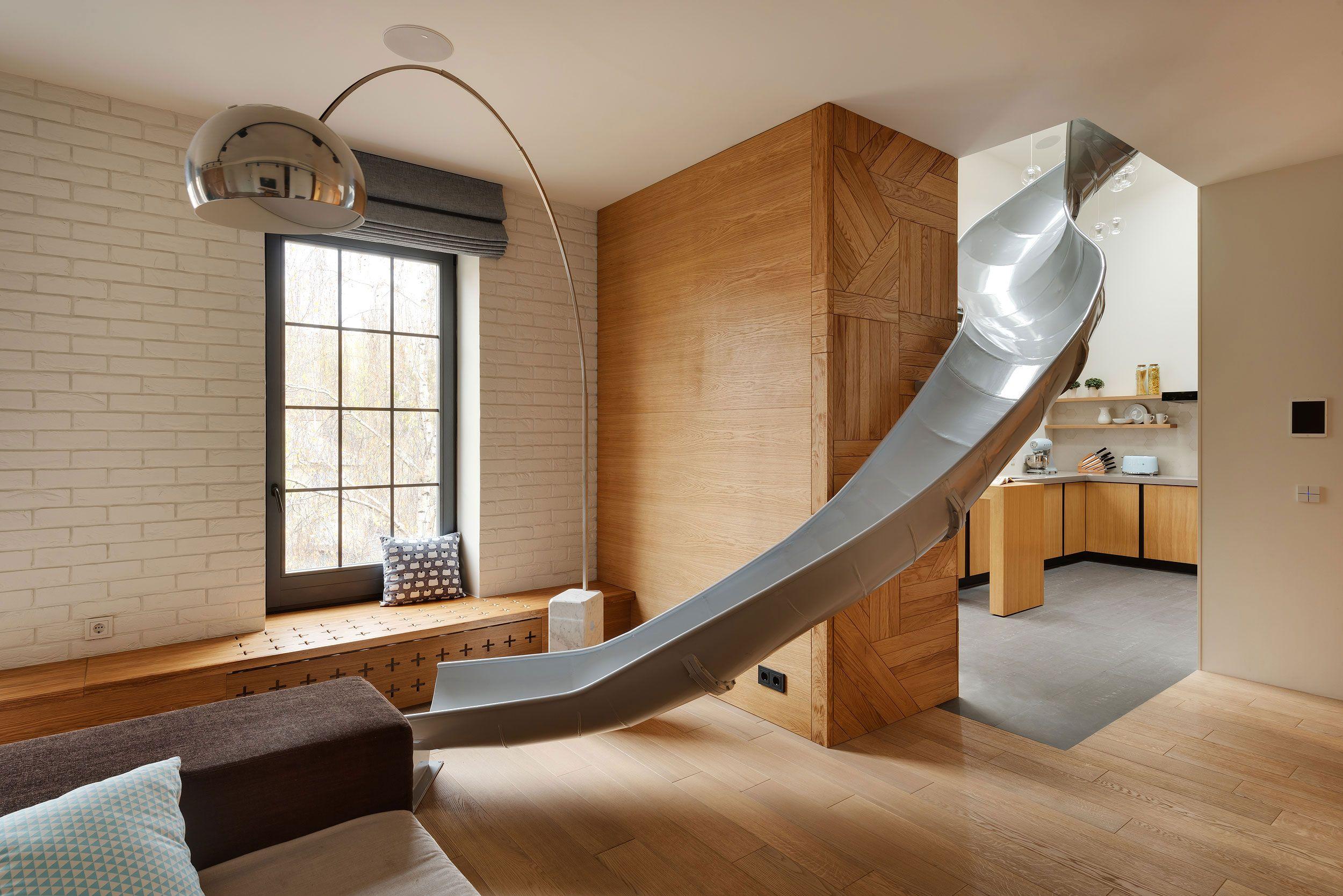 Case A Due Piani due piani e uno scivolo - foto 1 livingcorriere (con