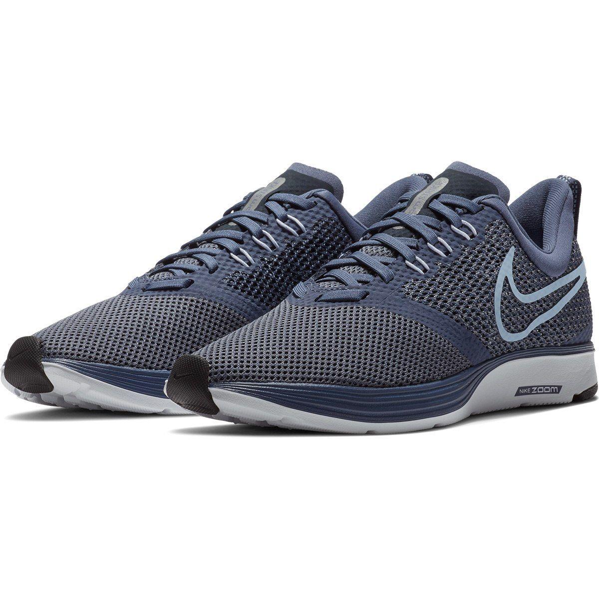 ee62ce1a54 Tênis Nike Zoom Strike Feminino - Azul e Cinza