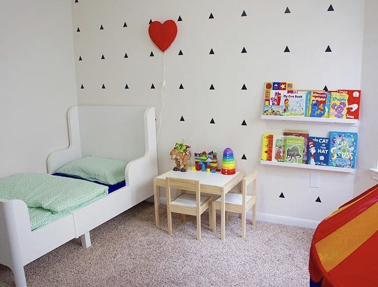 Boys Room Boy Toddler Decor Minimalist Ikea Bed Ikea Toddler Room Ikea Kids Room Ikea Girls Room