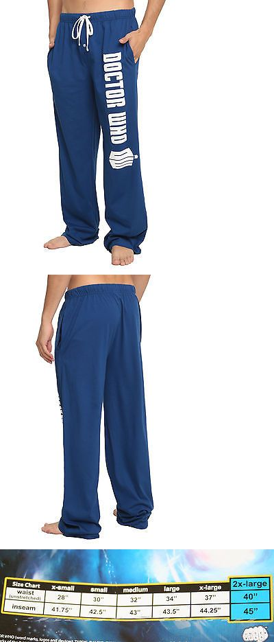Sleepwear and Robes 166697  New Bbc Doctor Dr Who Tardis Logo Call Box  Sleep Lounge Pants Pajamas Mens Large -  BUY IT NOW ONLY   34.95 on eBay! 78ccac4f5