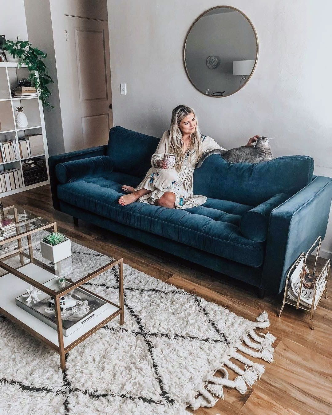 22 Gorgeous Blue Scandinavian Living Rooms Ideas You Must Have
