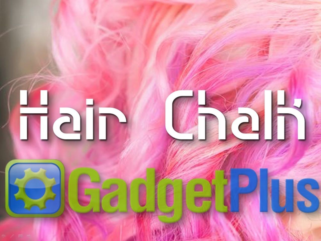 Perfect Gift for any Woman, Kid or Teens! Hair Chalk from www.GadgetPlus.ca