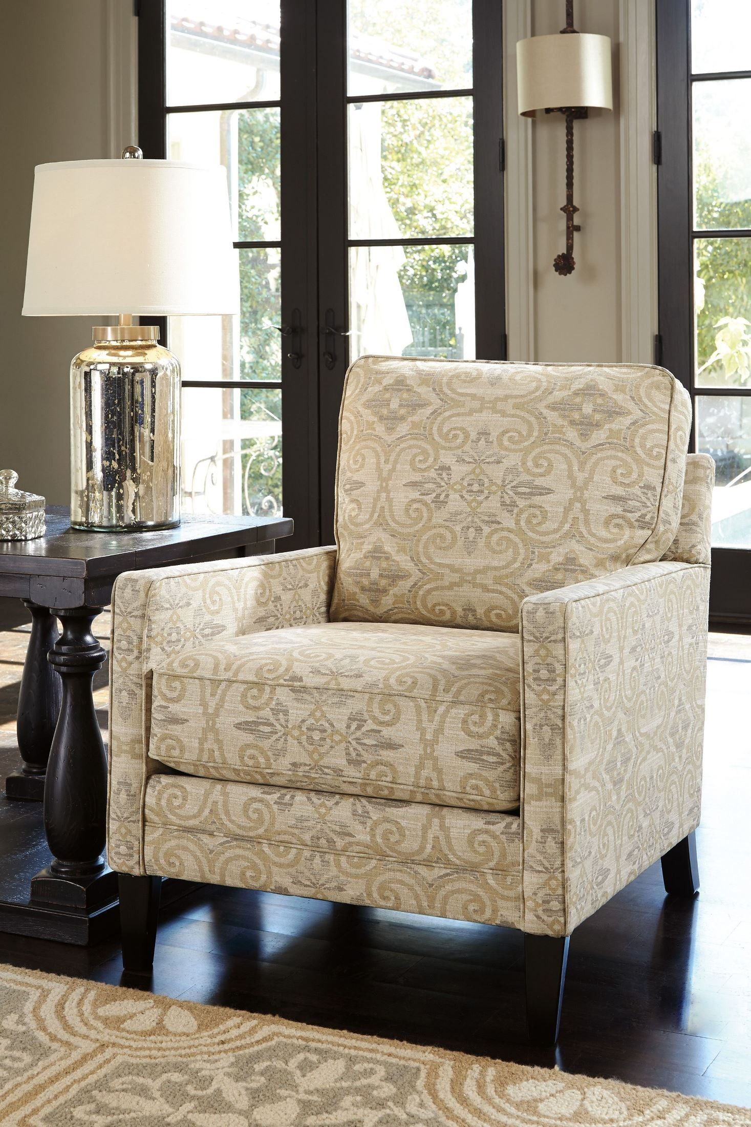 Cloverfield Fawn Accent Chair Ashley furniture living