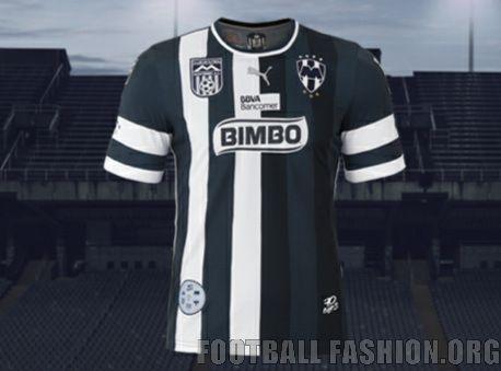 Rayados de Monterrey 70th Anniversary PUMA Soccer Jersey dd2bb9d05b3