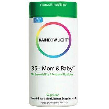 Rainbow Light 35+ Mom & Baby™ Pre- & Postnatal Food-Based Multivitamin (1X60 Tab )