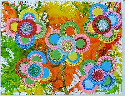 Ma petite maternelle fleurs printemps pinterest - Fleurs printemps maternelle ...