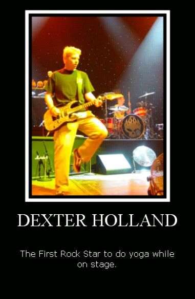Pin By Diamond Ace On The Offspring Dexter Holland Dexter Holland How To Do Yoga Dexter