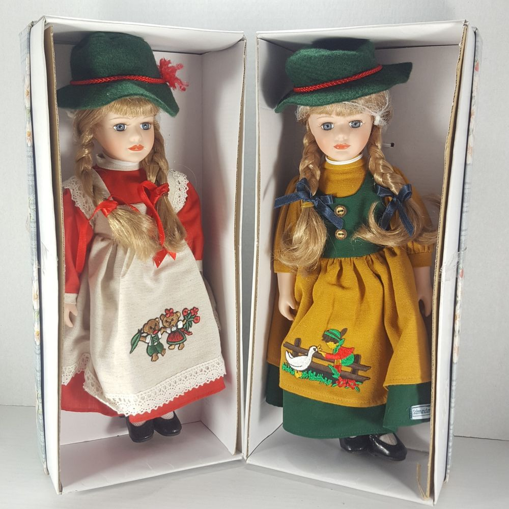 Ebay Auctions Ends Tonight Sunday 12 23 Schneider Doll Dolls Vintage Bavarian Porcelain Bears Boy Duck Lot Of 2 New Porcelain Dolls Porcelain Dolls