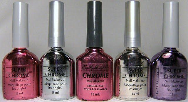 Mirror Nail Polish Chrome Sally Hansen And Naturistc S Super