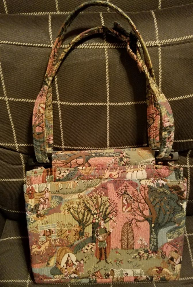 Toby Weston Gypsy Minstrel Tapestry Shoulder Bag Purse Tote Clothing Shoes Accessories