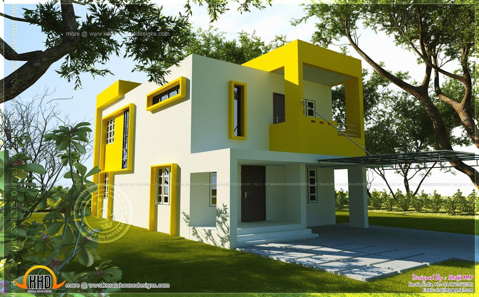 Image Result For Modern Exterior Painting Ideas India Small
