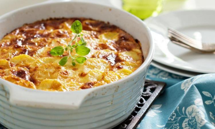 Gratin de pommes de terre à lu0027ancienne Cuisine Pinterest