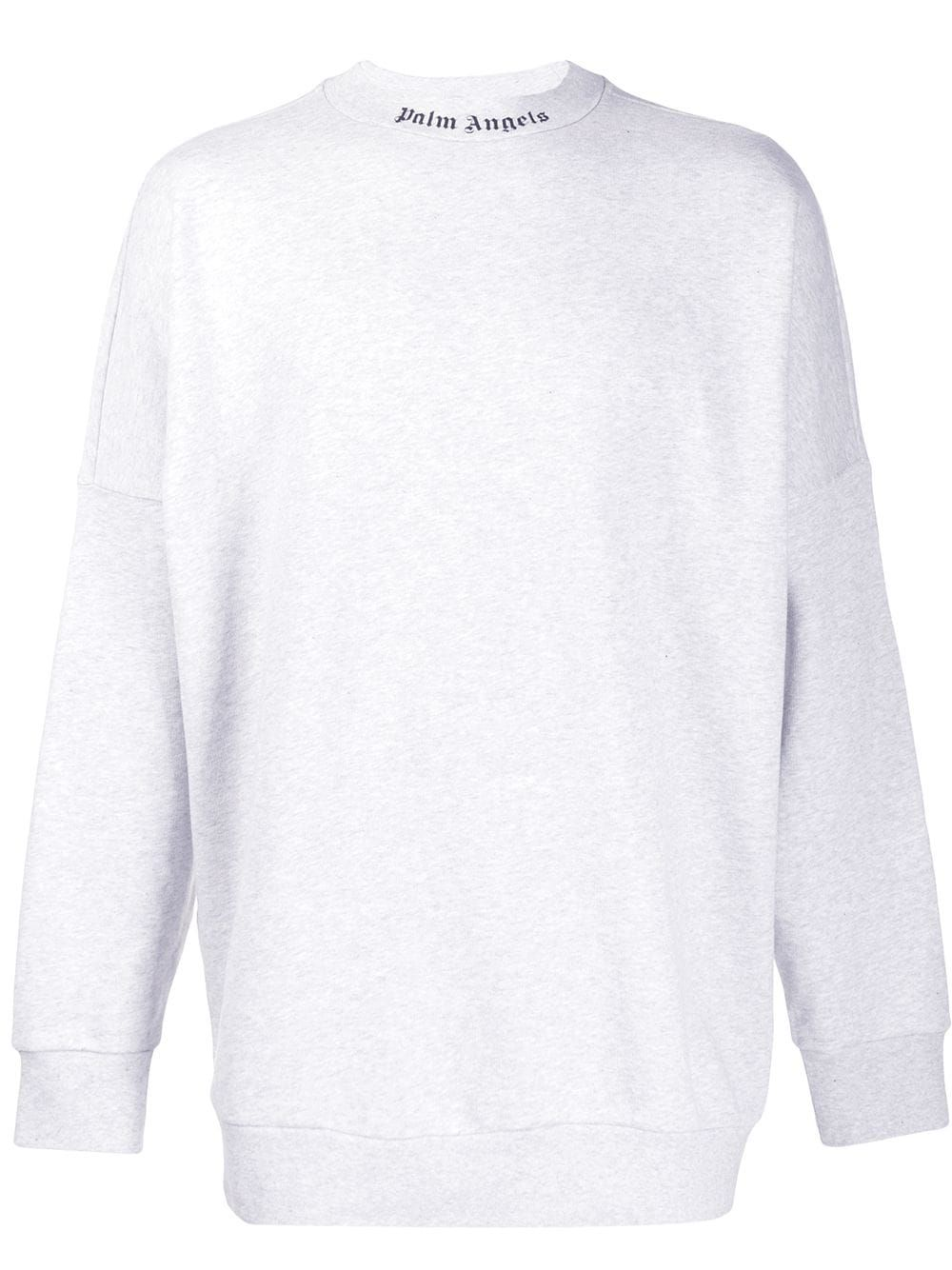 Palm Angels Logo Sweatshirt Farfetch [ 1334 x 1000 Pixel ]