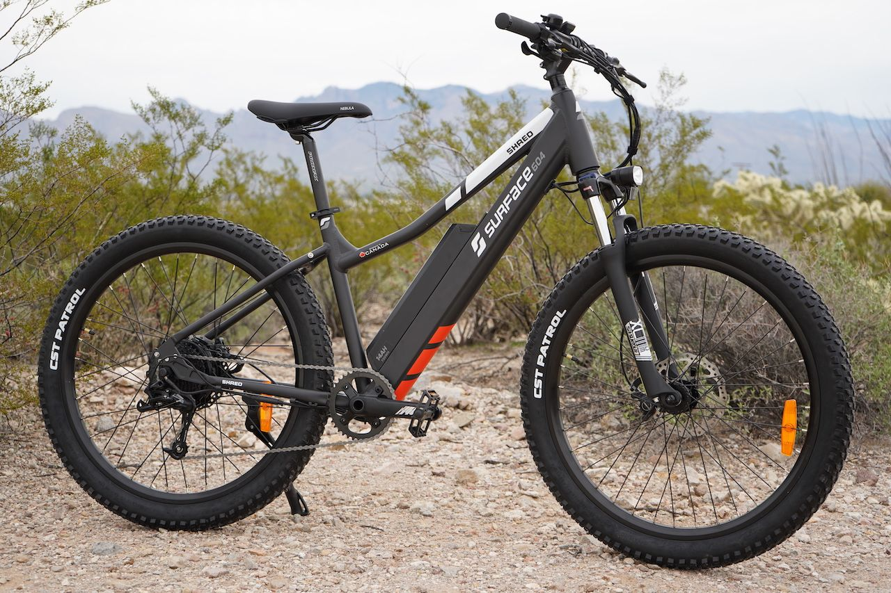 Surface 604 Shred Electric Bike Review Part 1 Pictures Specs Electric Bike Review Electric Bicycle Bike Reviews