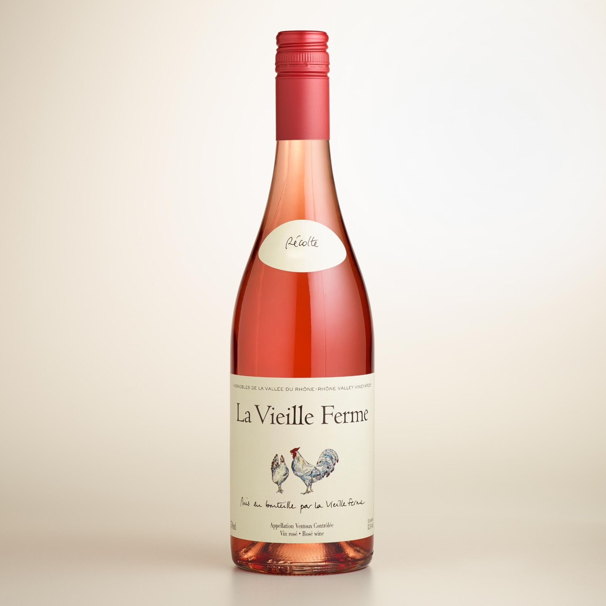 La Vieille Ferme Rose Wine And Spirits Wine Bottle Inexpensive Wine