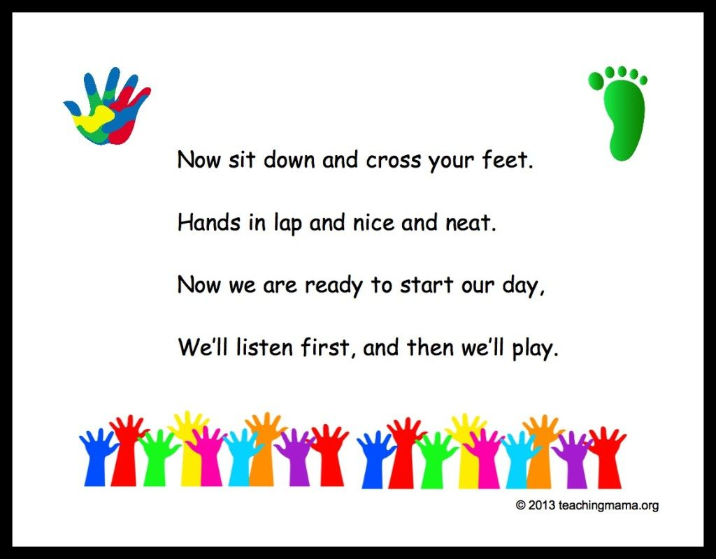 Colors preschool songs - 10 Preschool Transitions Songs And Chants To Help Your Day Run Smoothly