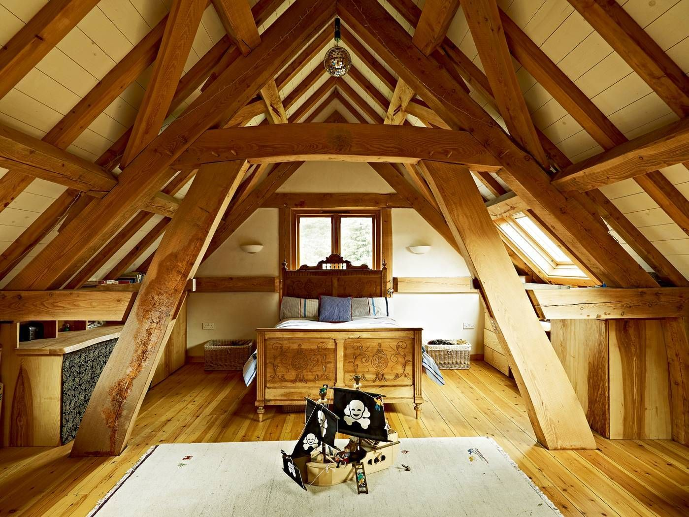 Good Low Cost Self Build. Such An Amazing Room! I Love The Exposed Beams