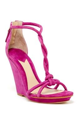 B Brian Atwood Priscilla Wedge Sandal