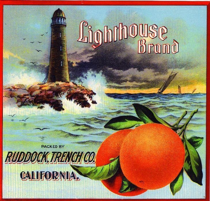 Frostproof Florida Clipper Brand Ship Orange Citrus Fruit Crate Label Art Print