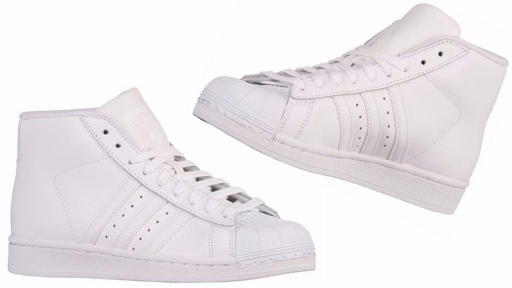 the latest af932 de3d3 ADIDAS ORIGINALS Kids PRO MODEL WhiteWhiteWhite B27451 adidas B27451  White