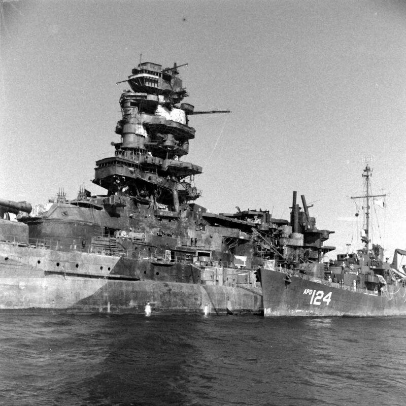 戦艦長門の大きさがわかる壁紙
