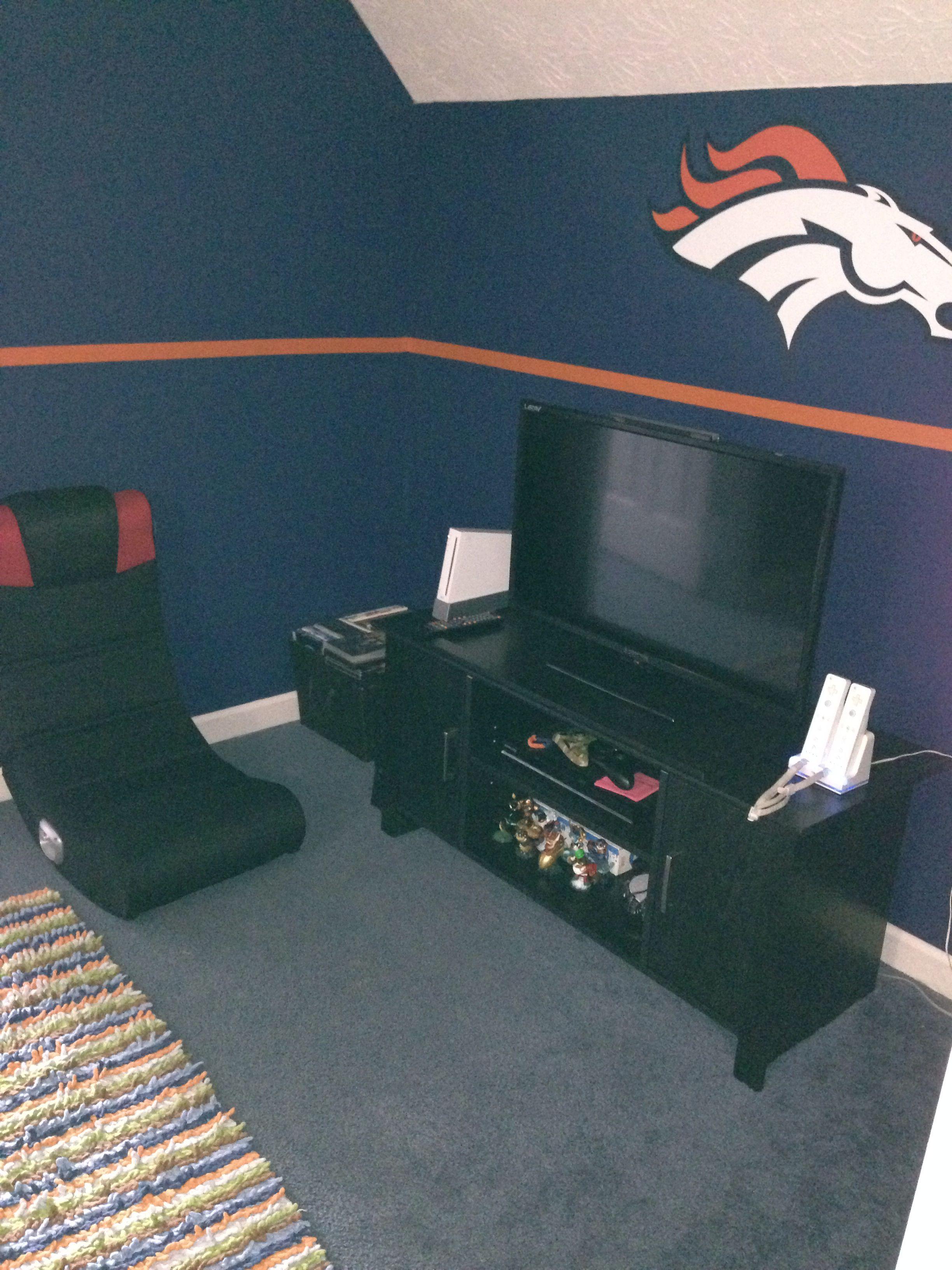Man Caves Denver Co : Peyton s broncos bedroom pinterest
