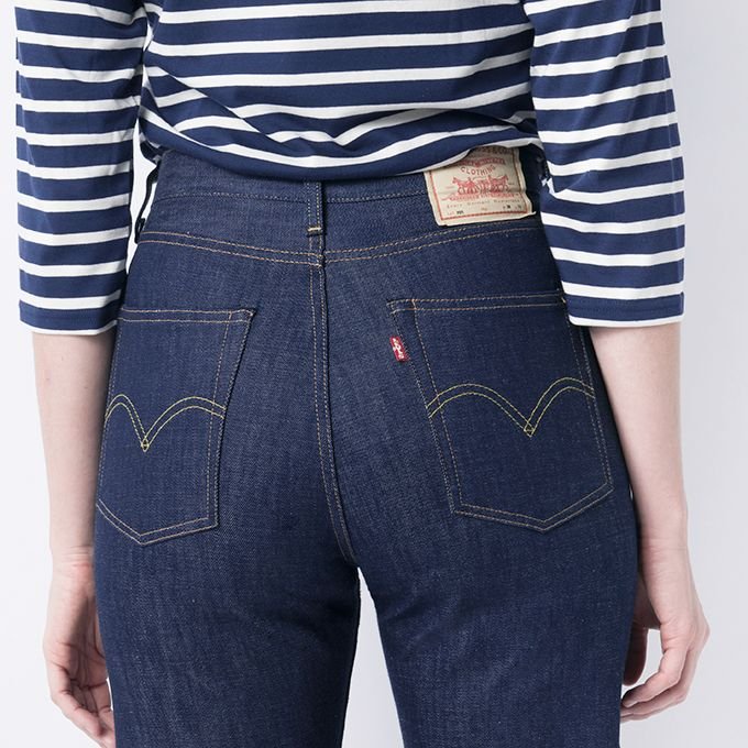 e2c958f9 MILL MERCANTILE - Levi's Vintage Clothing - 1950s 701 Jeans in Rigid ...