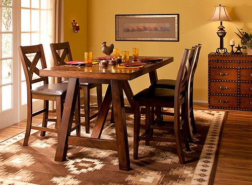 This Royce 5Piece Counterheight Dining Set Is Where Inspired Awesome Counter Height Dining Room Design Inspiration
