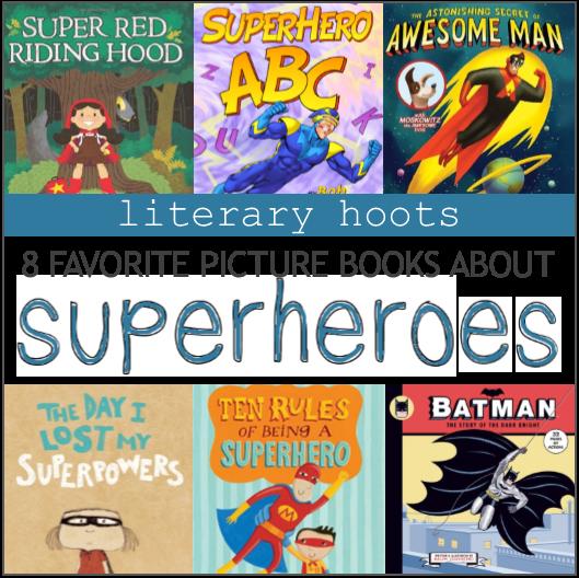 Superhero Picture Books | The Librarian's List | Superhero