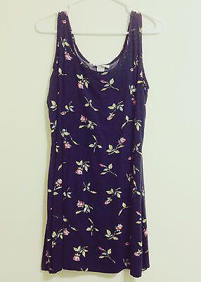 vintage floral mini dress // for sale