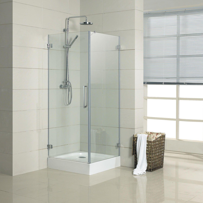 34 X 34 Torres Corner Double Door Shower Enclosure Bathroom Divisiones De Bano Decoracion De Unas Banos