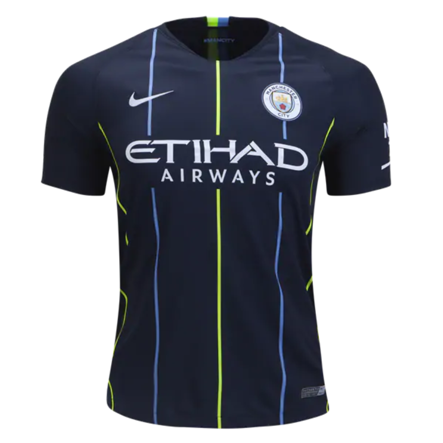 Manchester City 18 19 Away Men Soccer Jersey Personalized Name and Number 73845f8d2