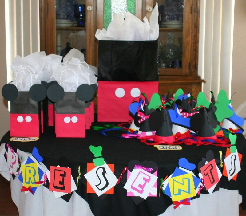 Do It Yourself Clubhouse : Mickey mouse clubhouse birthday party treat bags